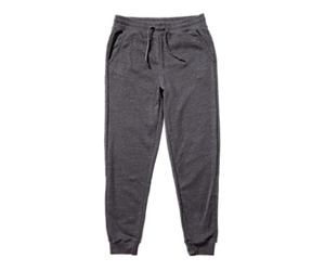 Fleece Jogger, Asphalt Heather, dynamic