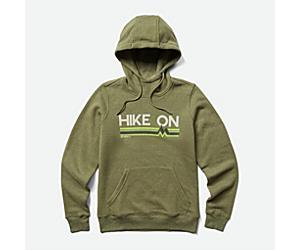 Keep Hiking On Hoody, Lichen, dynamic