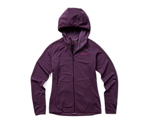 Terrain Geotex Full Zip Hoodie, Blackberry, dynamic