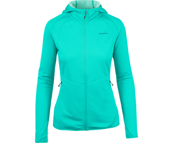 Entrada Geotex Long Sleeve Full Zip, Ceramic Heather, dynamic