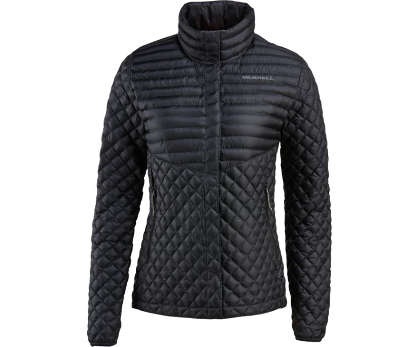 Micro Lite Puffer Jacket, Black, dynamic