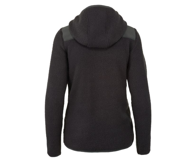 Flux Heavy Weight Sherpa Fleece, Asphalt/High Rise, dynamic
