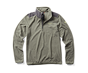 Flux Lightweight Hybrid 1/4 Zip Fleece, Beetle/Asphalt, dynamic