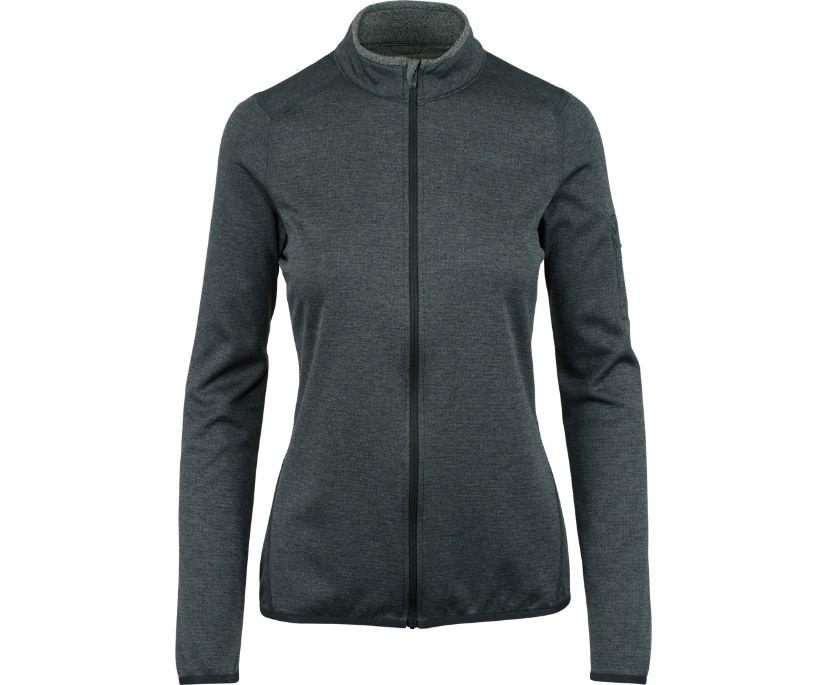 Deltatherm Full Zip Mid-Layer, Black, dynamic
