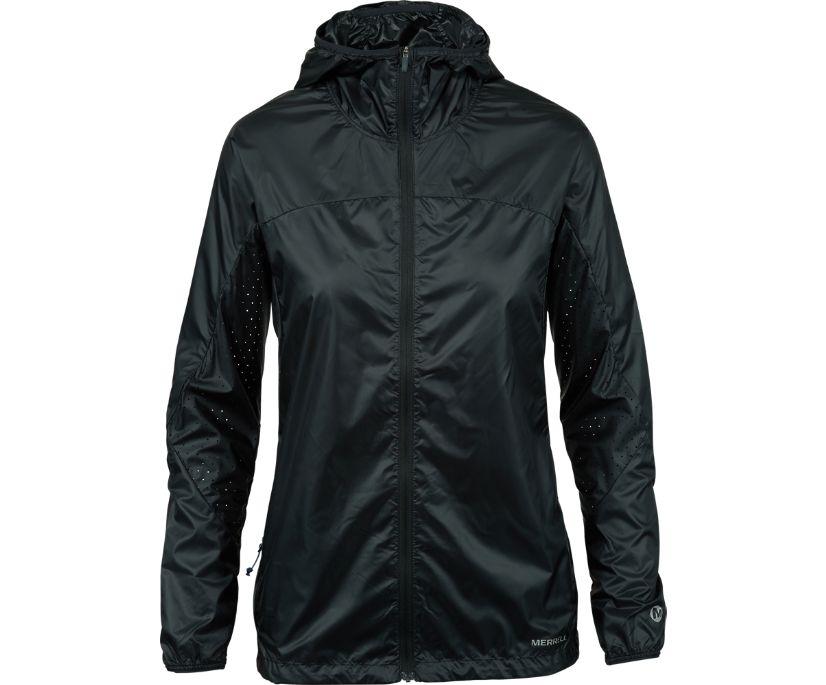Crestone Wind Jacket, Black, dynamic