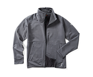Trek Tencel™ Full Zip, Asphalt Heather, dynamic