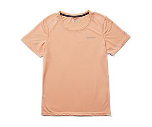Entrada Short Sleeve Tee, Peach, dynamic