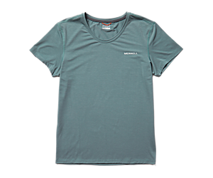 Tencel™ Short Sleeve Tee, Trooper, dynamic