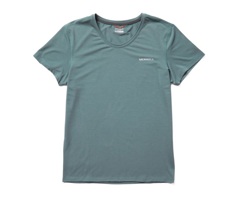 Tencel™ Short Sleeve Tee, Trooper, dynamic