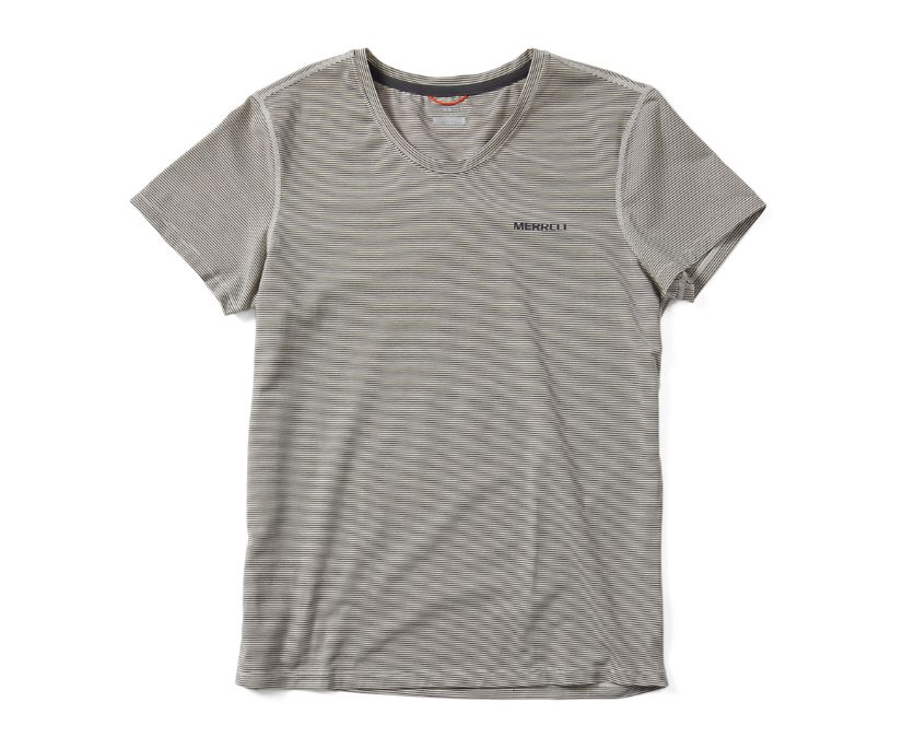 Tencel™ Short Sleeve Tee, Chalk, dynamic