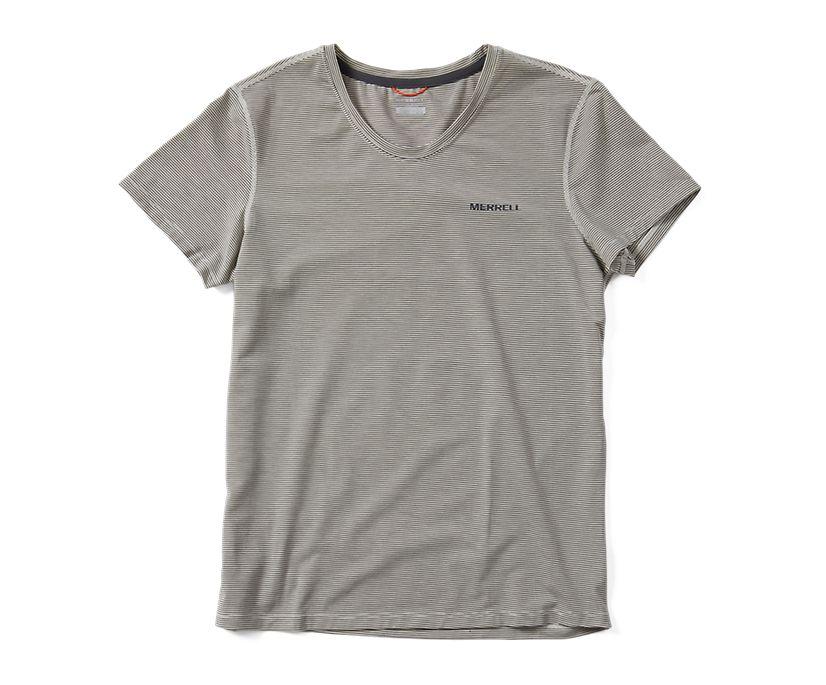Tencel™ Short Sleeve Tee, Chalk, dynamic