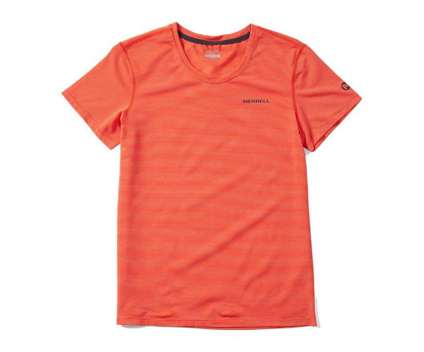 Tencel™ Short Sleeve Tee, Goldfish, dynamic
