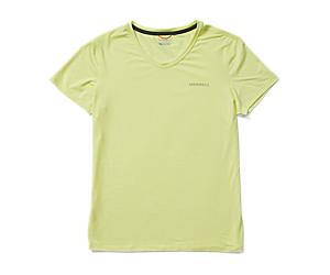 Tencel™ Short Sleeve Tee, Lemonade, dynamic