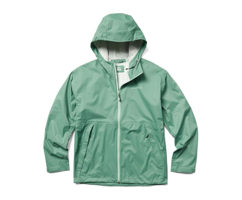 Fallon Rain Jacket, Mineral, dynamic