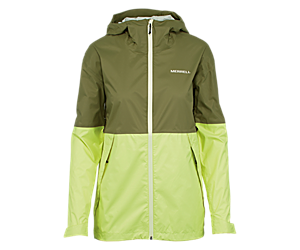 Fallon Rain Jacket, Lichen, dynamic