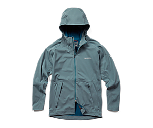 Whisper Rain Jacket, Trooper, dynamic