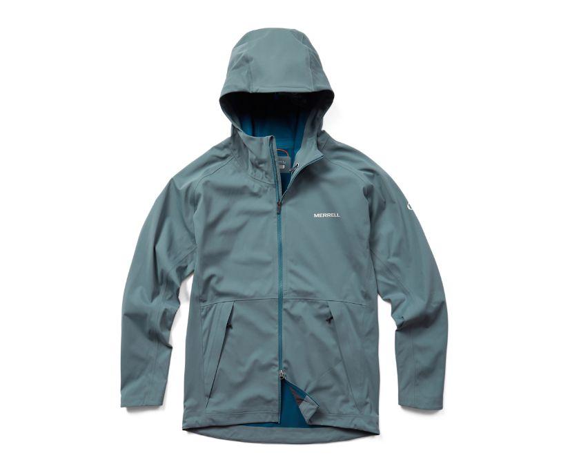 Whisper Rain Jacket, Trooper, dynamic