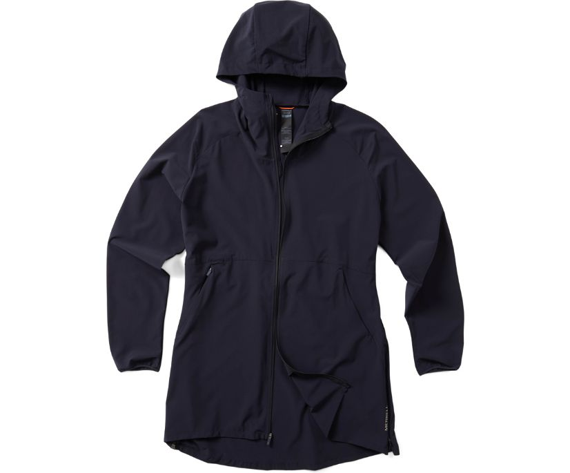 Ultralite Parka, Navy/Black, dynamic