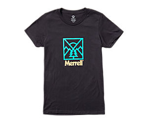 Stamp Short Sleeve Tee, Black, dynamic