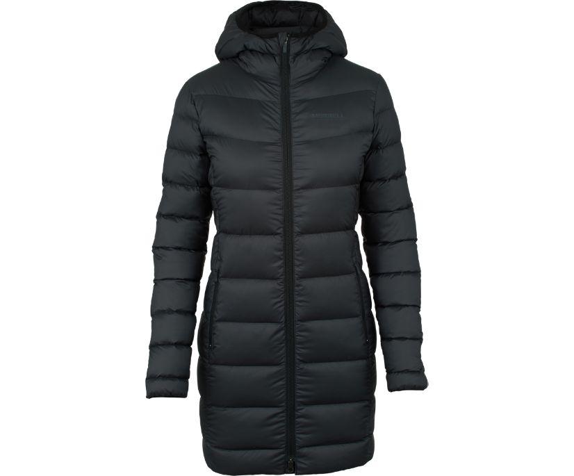 Glacial Ascent Parka, Black, dynamic