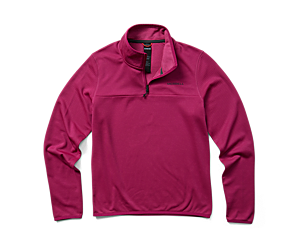 Terrain Geotex 1/4 Zip, Fuschia, dynamic
