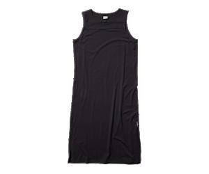 Tank Midi Dress, Black, dynamic