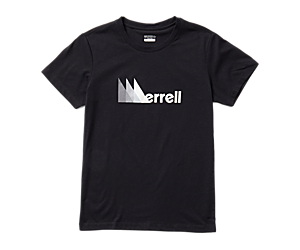 Triangle Short Sleeve Tee, Black, dynamic