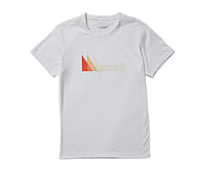 Triangle Short Sleeve Tee, White, dynamic