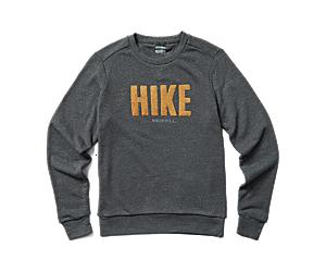 Collegiate Hike Crew Fleece, Asphalt Heather, dynamic