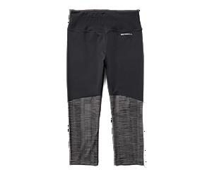 Ever Move Capri, Black/Asphalt Line Print, dynamic