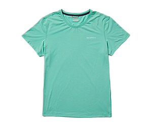 Tencel™ Short Sleeve Tee, Spearmint, dynamic