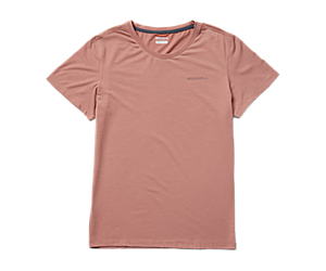 Tencel™ Short Sleeve Tee, Burlwood, dynamic