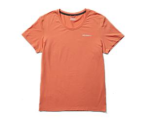 Tencel™ Short Sleeve Tee, Sunbaked, dynamic