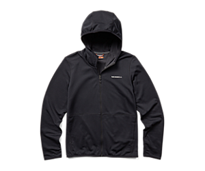 Terrain Geotex Full Zip Hoodie, Black, dynamic