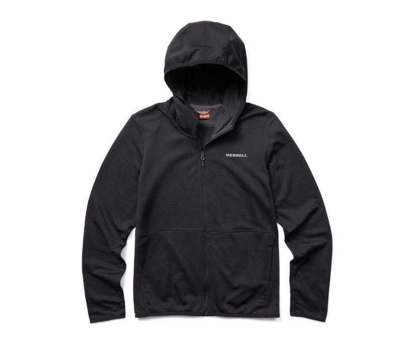 Terrain Geotex Full Zip Hoodie, Black, dynamic