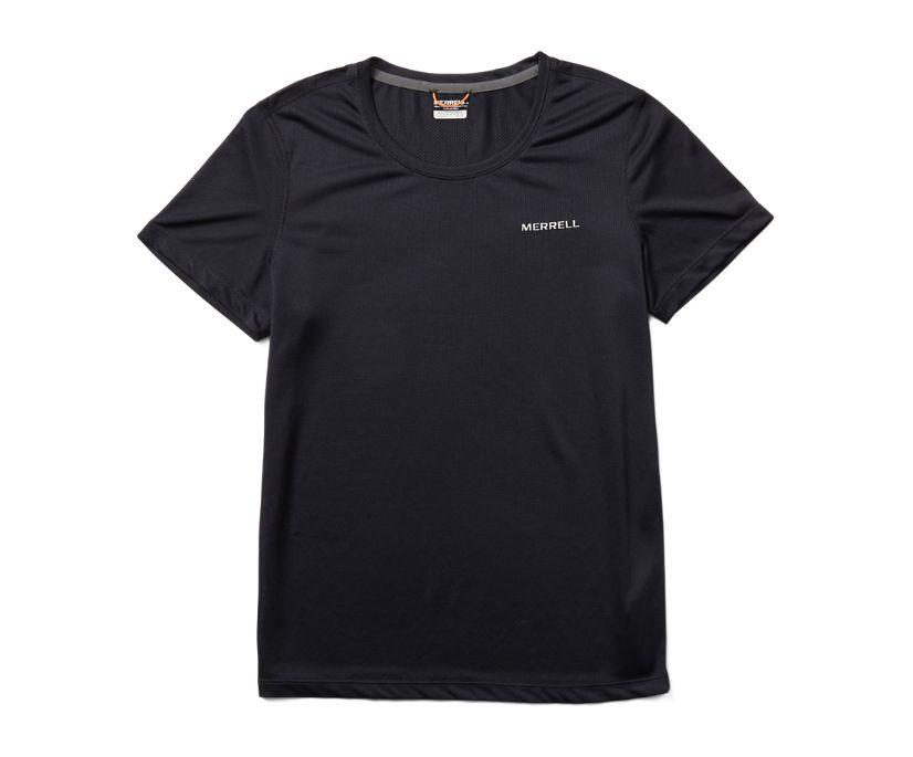 Terrain Short Sleeve Tech Tee, Black, dynamic