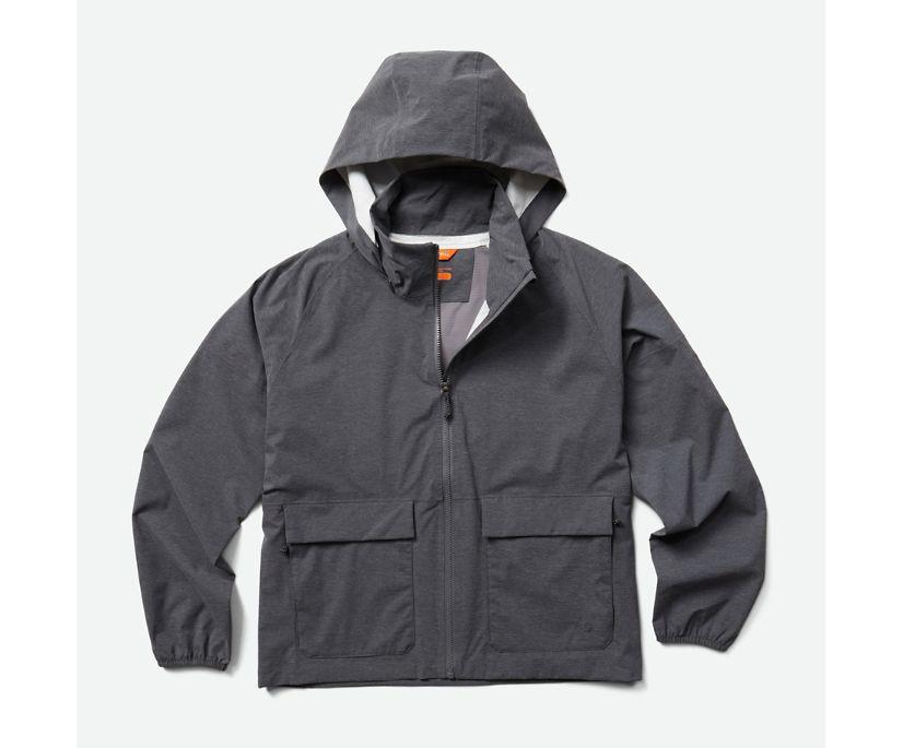 Alpine Rain Shell, Black Heather, dynamic