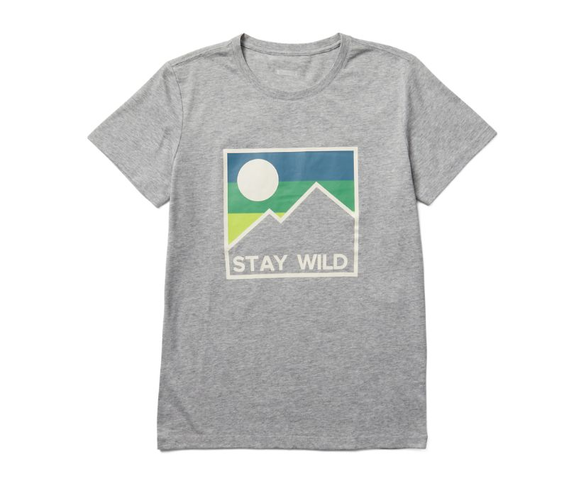 Earth Day Tee, Square Stay Wild, dynamic