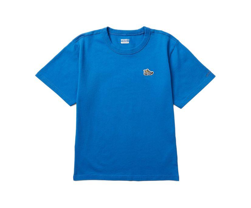 Moab Icon Tee, Blue, dynamic