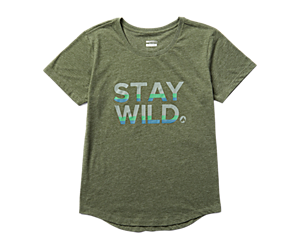 Earth Day Tee, Stay Wild, dynamic