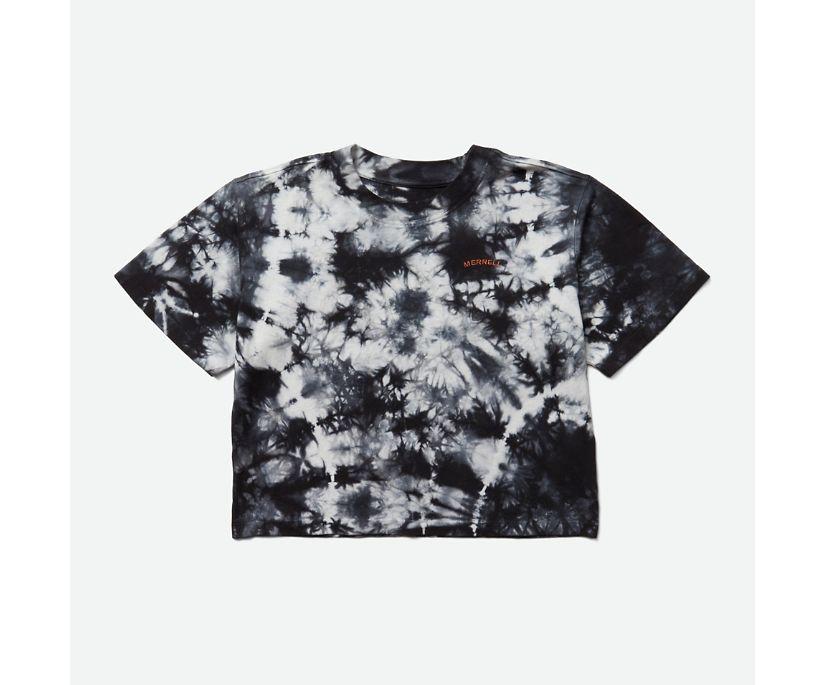 Sunbaked Arc Tee, Black Tie Dye, dynamic