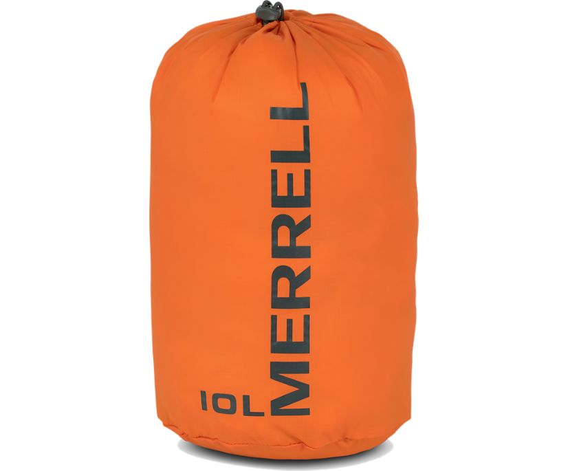 Crest 10L Stuff Sack, Russet Orange, dynamic