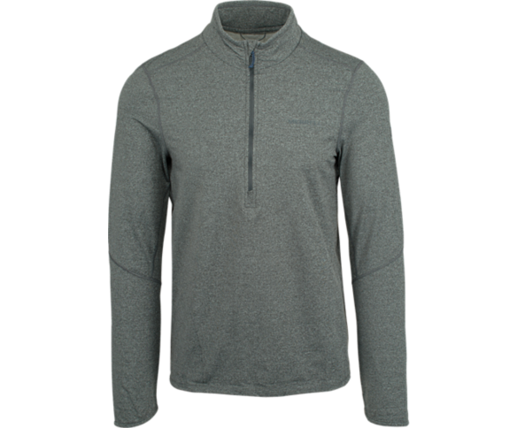 BetaTherm 1/4 Zip Mid-Layer Fleece, Grey Heather, dynamic