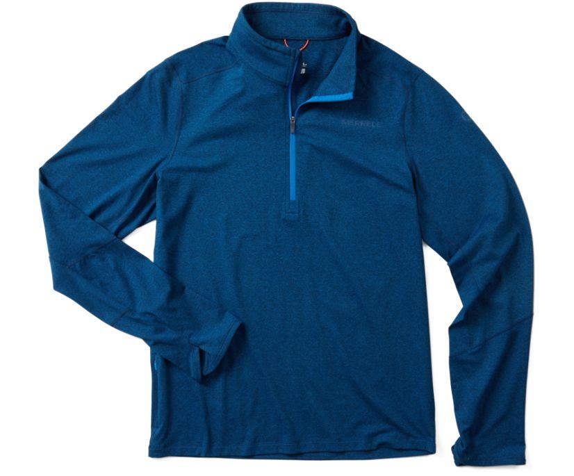 BetaTherm 1/4 Zip Mid-Layer Fleece, Imperial Blue, dynamic