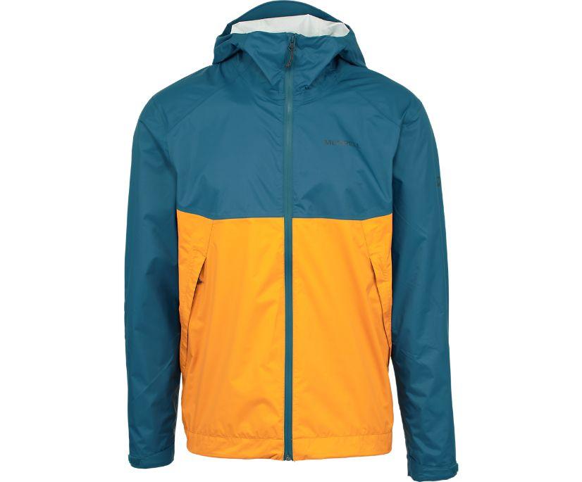 Fallon 4.0 Rain Jacket, Sailor Blue, dynamic