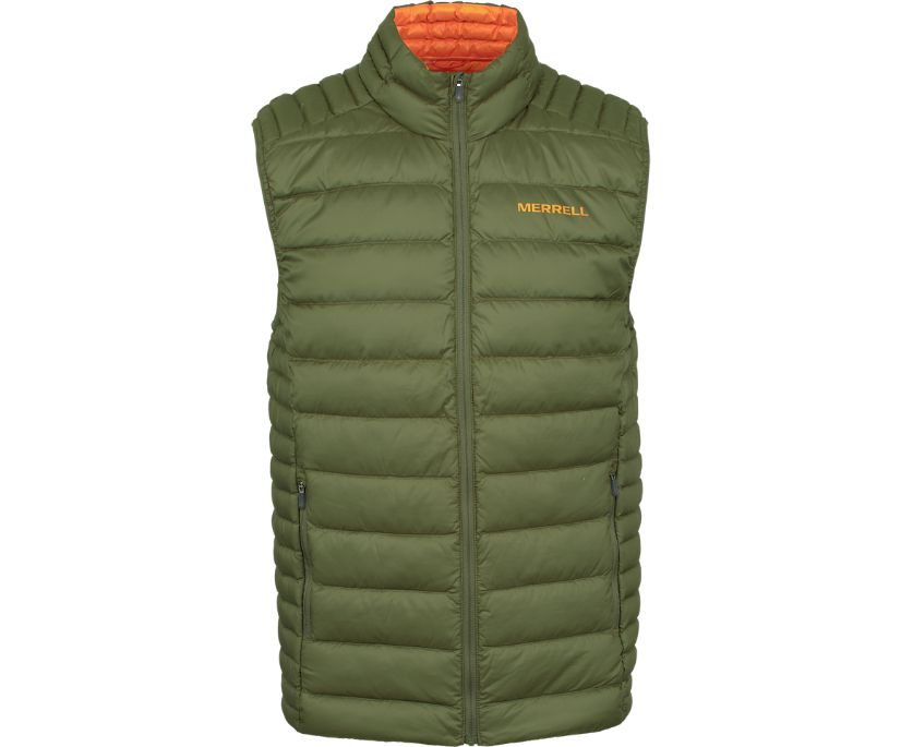 Ridgevent™ Thermo Vest, Dusty Olive, dynamic