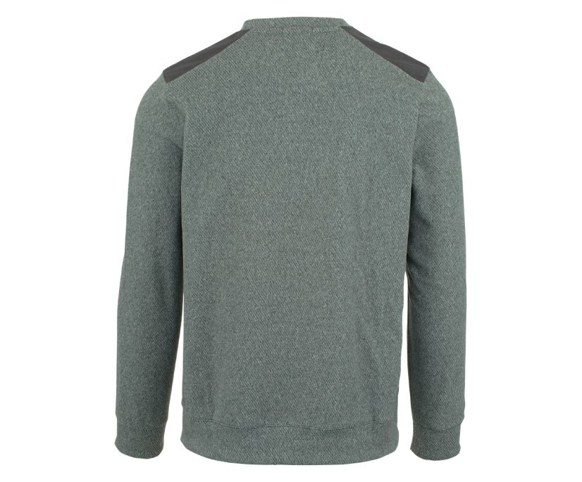 Trailhead Twill Crewneck, High Rise, dynamic
