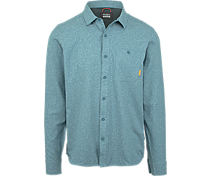 Entrada III Long Sleeve Button Down, Bering Sea Heather, dynamic