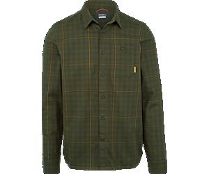 Trailhead Long Sleeve Flannel Shirt, Beluga, dynamic