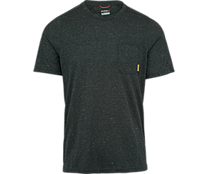 Trailhead Short Sleeve Tee with Drirelease®, Black Heather, dynamic